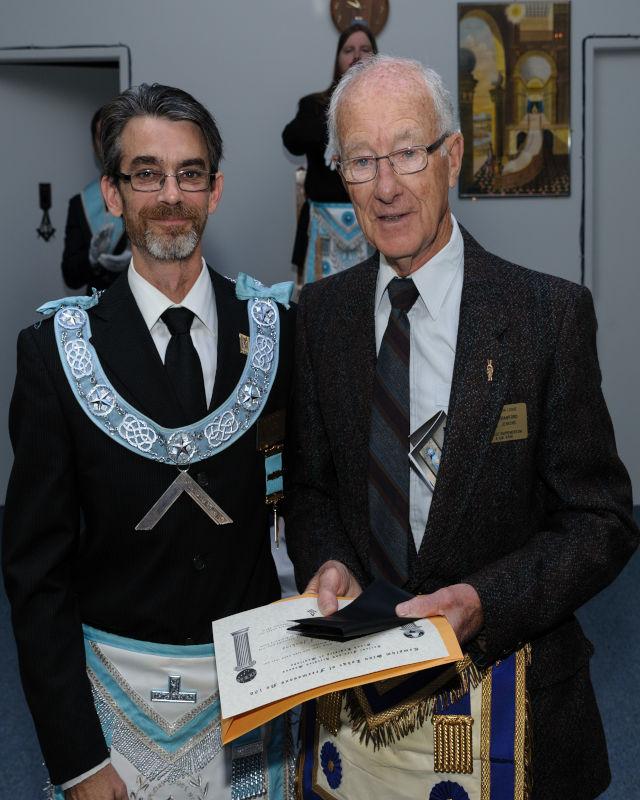 Freemason Award Templum Sion